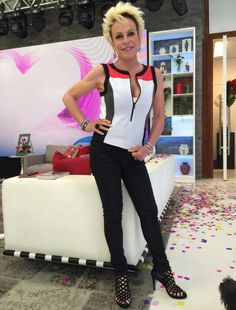 Ana Maria Braga/ Look da Ana nº 446 Sport chic