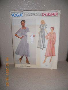 VINTAGE Vogue American Designer Albert Nipon by AltmodischVintage, $7.00