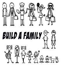 Billedresultat for family stickers