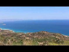 Деревня Турлоти (Τουρλωτή, Tourloti) в горах Орнон, Крит Crete Κρήτη июль 2015 г. - YouTube