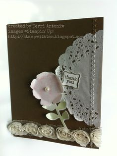 This sneak peek has a vintage feel to it. Everything you see here (except pearl) is a new product from the Spring Catalogue! New Product, Stampin Up, Create, Spring, Cards, Foil Stamping, Playing Cards, Maps