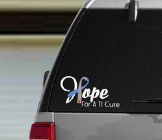 Hope Heart Diabetes Ribbon - Diabetes Awareness Sticker