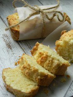 Mini loaves of coconut bread ...