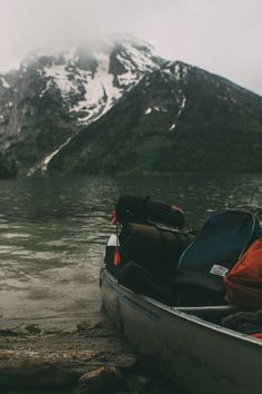 Would love to do a little canoeing, backpacking and camping in the mountains. Seriously SWEET!