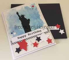 THECRAZYELY: Happy Birthday USA card