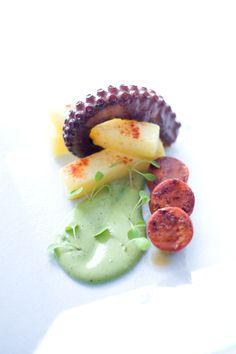 Octopus Salad- By Chef Alejandro Diaz