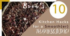 House of Bren: 10 Kitchen Hacks for a Stress-Free #Thanksgiving