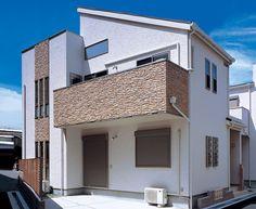 Modern home in Japan Balcony Design, Japanese House, Facade, Exterior, House Design, Warm, Interior Design, Architecture, Outdoor Decor