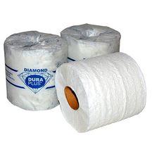 Code: PA500R48-E**34,66 prix régulier****Rouleaux de papier hygiénique Dura Plus 2 ÉPAISS. 500 FEUILLES/ROUL. BLANC  BIODÉGRADABLE