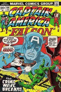 Captain America and the Falcon #158.  #CaptainAmerica #Falcon