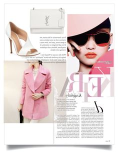 """""""Untitled #49"""" by themoodforfashion on Polyvore featuring Gianvito Rossi and Yves Saint Laurent"""