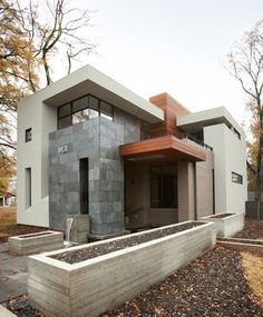 LaFrance Residence - Atlanta modern home designed by West Architecture Studio and built by Cablik Enterprises