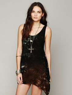 Free People Key Largo Tie Dye Dress, AU89.81