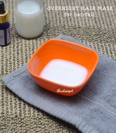 BEAUTY DIY: OVERNIGHT HAIR MASK TO STOP HAIR FALL Natural Coconut Oil, Organic Coconut Oil, Coconut Milk Hair Mask, Olive Oil Hair Mask, Overnight Hair Mask, Overnight Hairstyles, Mini Facial, Soften Hair, Home Remedies