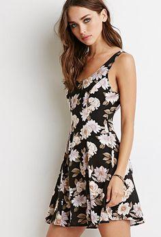 Floral Print Dress | Forever 21 - 2000134103