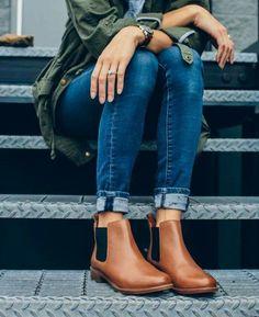 Outono com botas