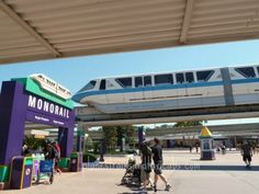 wdw monorail transportaion center - simple sojourns