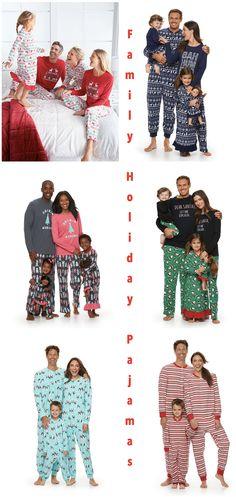 ffeabb344 Family Holiday Pajamas Family Holiday Pajamas, Family Pjs, Matching  Christmas Pajamas, Matching Family