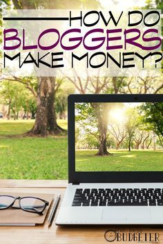How do Bloggers Make Money Earn More Money, Make Money Blogging, Make Money From Home, Way To Make Money, Make Money Online, Blogging Ideas, Once Upon A Tome, Blog Topics, Frugal Tips