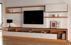 Tv furniture design 2018 full size of unit designs with storage cabinet design for living room Tv Cabinet Design, Tv Wall Design, Living Room Tv Unit Designs, Small Living Room Design, Tv Furniture, Furniture Design, Muebles Rack Tv, Tv Wanddekor, Modern Tv Wall Units