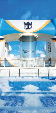 Set sail on Anthem of the Seas to the best scenic cruise destinations like Bermuda, St. Kitts and the rugged coasts of the Canaries while experiencing all the amazing things to do onboard Anthem of the Seas. Royal Caribbean International, Royal Caribbean Cruise, Sea New York, Anthem Of The Seas, Deck Plans, Great Vacations, Yesterday And Today, Cruises, Joyful