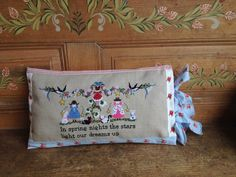 Lilli Violette Little House Needleworks, Cross Stitch Finishing, Coin Purse, Lily, Xmas, Night, Spring, Inspiration, Charts