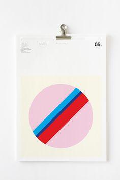 Graphic Posters of Classic Album Covers – Fubiz Media