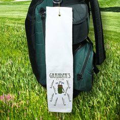 Personalized Golf Club Golf Towel