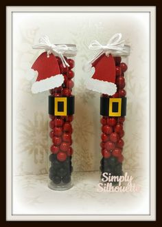 Cute Christmas treats by Julie using some Totally White Trendy Twine Christmas Craft Fair, Christmas Favors, Stampin Up Christmas, Christmas Goodies, Homemade Christmas, Christmas Projects, Christmas Holidays, Christmas Crafts, Christmas Decorations