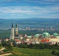 Wine Estate and Orchard - Stift Klosterneuburg Vienna Austria, Salzburg, Kirchen, Dom, Paris Skyline, Taj Mahal, Wine, Travel, Baroque