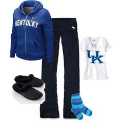 Kentucky Wildcats relaxing game time!!!!