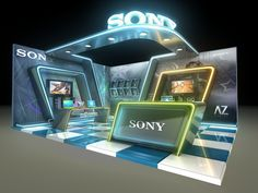 Sony Exhibition Stand on Behance