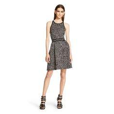 A Line Dresses Mossimo Black