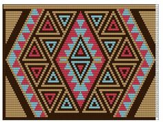 Discover thousands of images about Kumihimo Tapestry Crochet Patterns, Bead Loom Patterns, Crochet Stitches Patterns, Crochet Chart, Crochet Motif, Cross Stitch Patterns, Crochet Handbags, Crochet Purses, Tapestry Bag