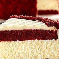 If you love both Red Velvet and cheesecake this way you can have both.
