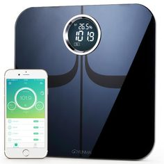Improve your weight loss and overall weight management with 10 precision measurements and Bluetooth wireless tracking.  Reaching a healthy weight goal is important at any age as it impacts our energy level, cardiovascular health and even our confidence. That is why you need a scale that helps you measure all the most important body composition features so you can live better. Introducing the Yunmai Bluetooth Weight Scale, the complete home weight management system for today modern home.