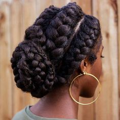 awesome Over 100 Hottest African American Hairstyles That Will Motivate This Year Check more at http://newaylook.com/best-african-american-hairstyles/ #africanamericanbraids