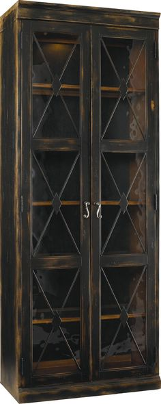 Sanctuary Two-Door Thin Display Cabinet - by Hooker Furniture