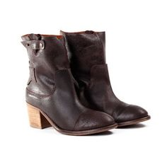 Accelot Bootie Mocha, $135, now featured on Fab.