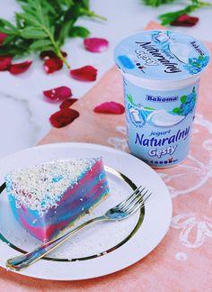 Zebra jogurtowa - idealny deser na lato. Yogurt Recipes, Healthy Recipes, Polish Recipes, Polish Food, Food Cakes, Panna Cotta, Cake Recipes, Cheesecake, Food And Drink