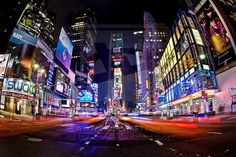 Times Square: the center of the Universe