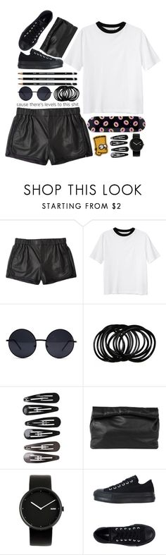 """""""what ya thought?"""" by zada ❤ liked on Polyvore featuring Thakoon Addition, Monki, Retrò, ODD FUTURE, Clips, Marie Turnor, Alessi and Converse"""