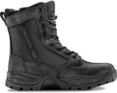 Maelstrom TAC FORCE 8 Womens Black Waterproof Boots With Zipper  Military Work  Tactical Boots  Athletic Breathable Durable Comfortable  Lightweight Boots For Women Size 8M -- Details can be found by clicking on the image. (This is an affiliate link)