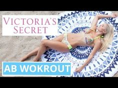 Victoria Secret Abs | Rebecca Louise - YouTube
