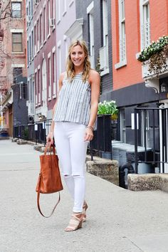 Four White Pieces You Should Have For Spring