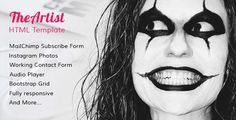 Download Nulled TheArtist HTML Music Template For Free