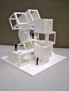 Workshop Final 2 Conceptual Model Architecture, Maquette Architecture, Architecture Model Making, Architecture Concept Drawings, Wood Architecture, Geometric Shapes Art, Geometric Sculpture, Architectural Sculpture, Interior Design Sketches