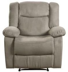 Lifestyle Power Recliner Fabric, Taupe The Cloud fabric power recliner brings fresh design to its comfort story. Generous padding and individually wrapped coil