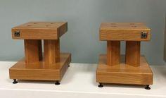 Hifi Stand, Speaker Stands, Diy Speakers, Built In Speakers, Audio Design, Sound Design, Audio Rack, Tea Trolley, Hifi Audio