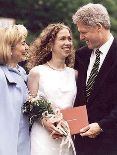 Sweet ~ DADDY'S GIRL photo | Bill Clinton, Chelsea Clinton, Hillary Rodham Clinton